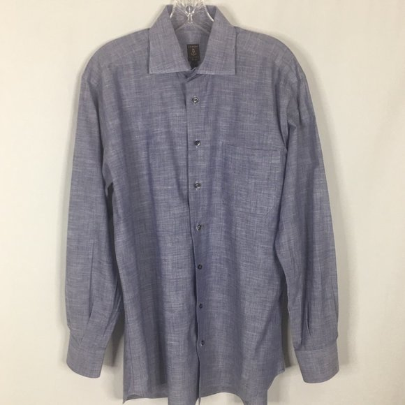 Robert Talbot Estate Men's Dress Shirt ~ 15 1/2